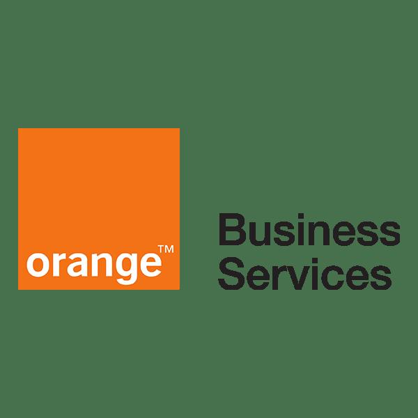 client Orange Business Services logo
